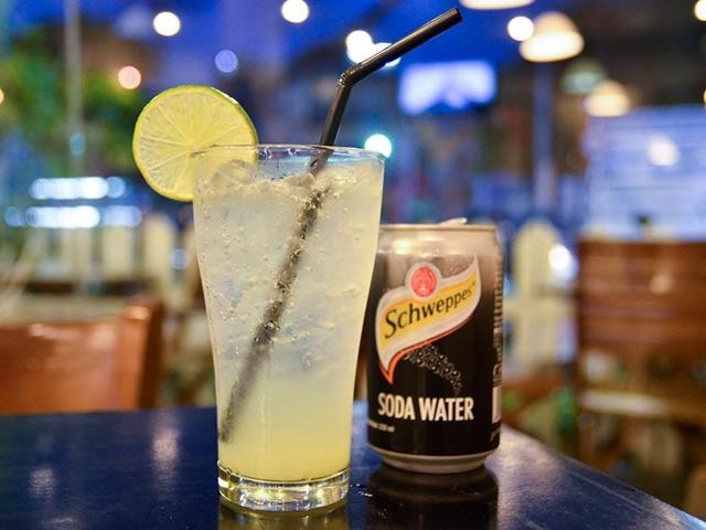 Vietnamese-Lime soda