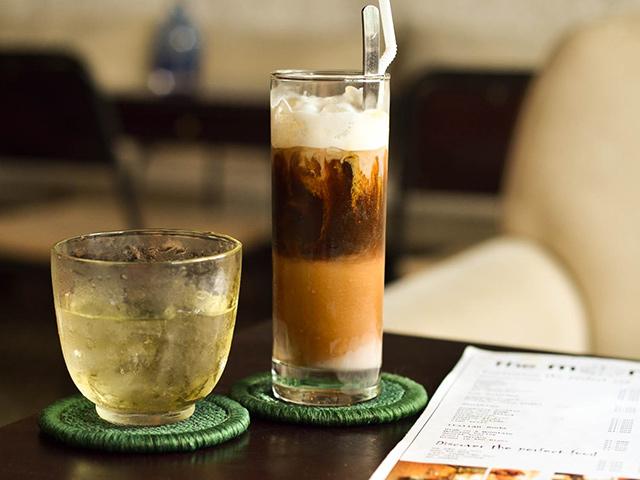 Vietnamese-Milk coffee