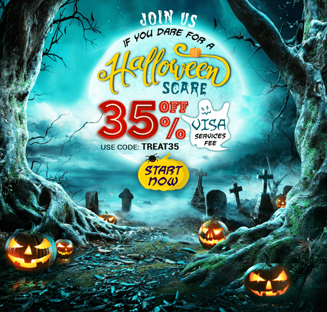 Join us if you dare for a halloween scare