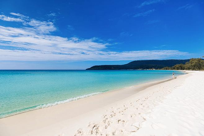 Wonderful beaches in Southeast Asia