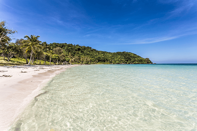 Wonderful beaches in Southeast Asia